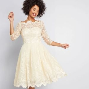 ModCloth Gildan Grace Lace Dress